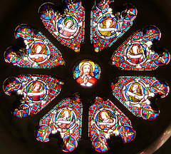 temple church rose window