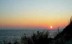 Coucher de soleil sur le Cap Ferret