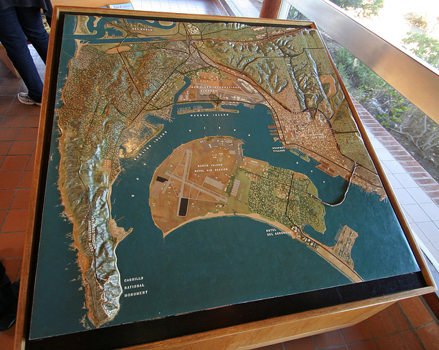 3D Map of San Diego Harbor (8042)