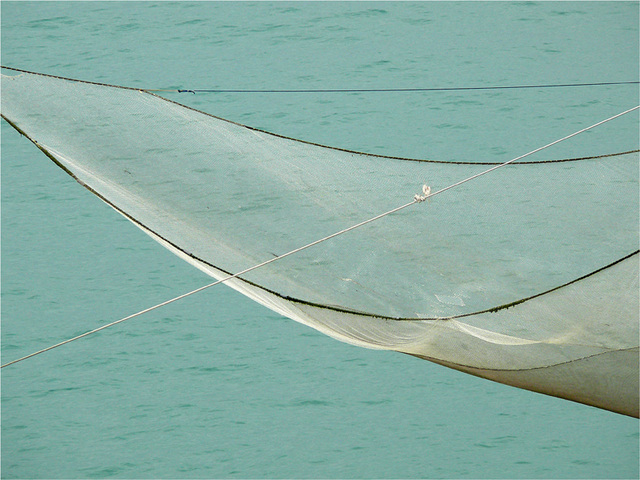 """l'aile de la mer : un """"trabucco"""""""