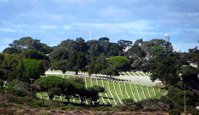 Military Cemetery on Point Loma (2153)