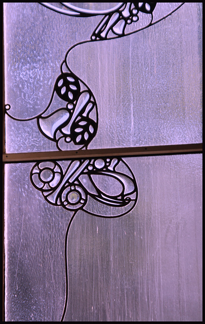 COC Jugendstil Fensterdetail