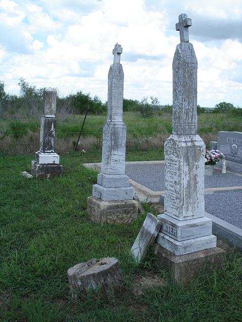 Hranice & St-Joseph's cemeteries - Texas. USA - 5 juillet 2010