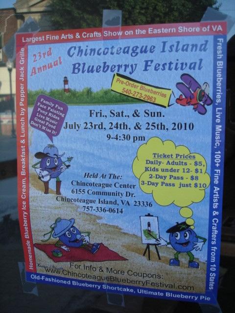 Chincoteague island blueberry festival / Festival du bleuet de l'île Chincoteague Pocomoke, Maryland, USA - 18 juillet 2010.