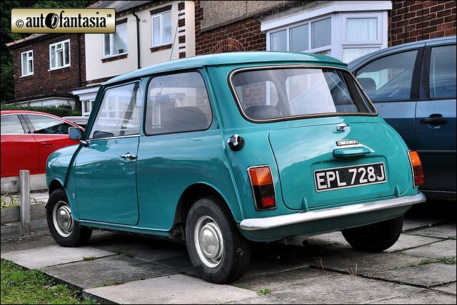1971 Morris Mini - EPL 728J