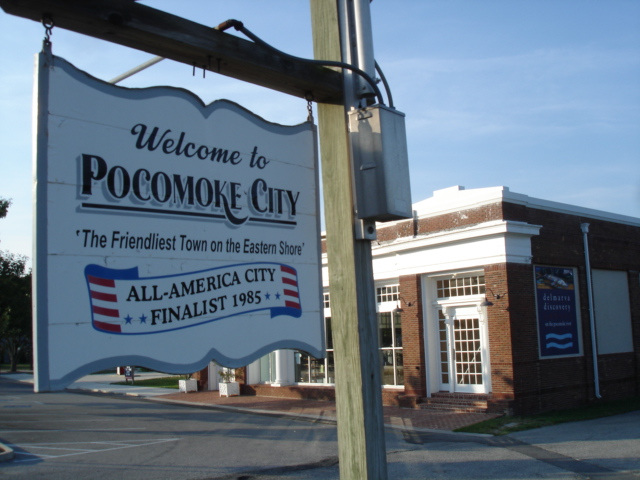 Welcome to Pocomoke city / Maryland ( MD) USA - 18 juillet 2010.