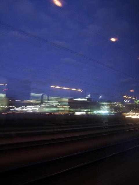 abend stadt licht