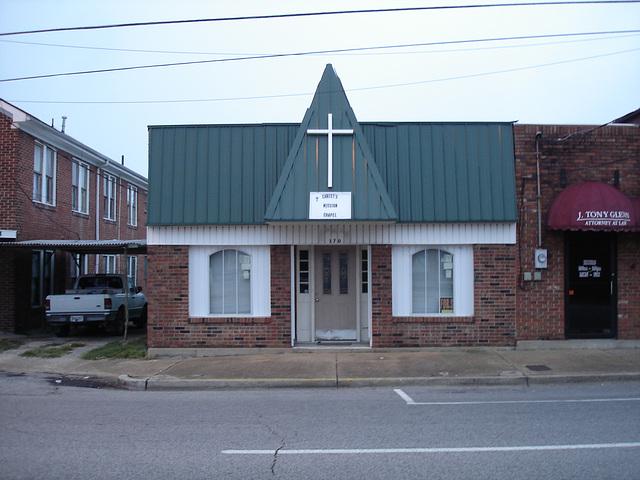 Christ's mission chapel / Chapelle de la mission du Christ - Hamilton, Alabama. USA - 10 juillet 2010