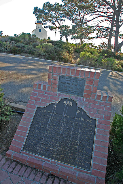 Old Poit Loma Lighthouse (8047)