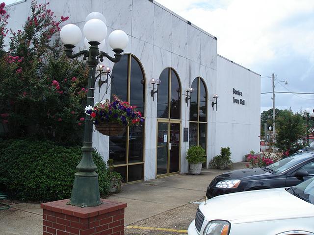 Bernice, Louisiane. USA - 07-07-2010 - Town hall / Hotel de ville
