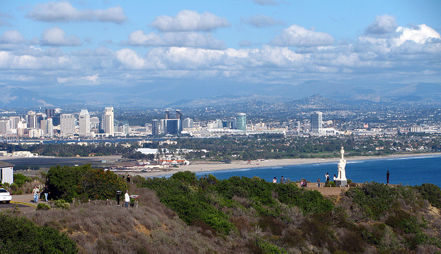 San Diego From Cabrillo National Monument (2163)