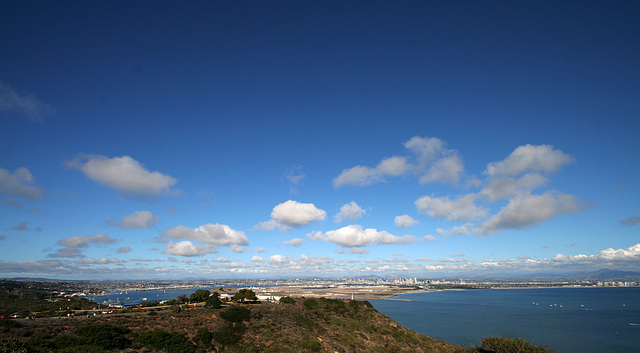 San Diego From Cabrillo National Monument (8048)