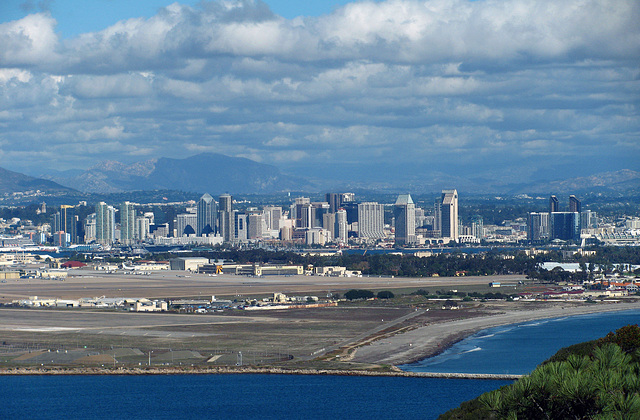 San Diego From Point Loma (2150)