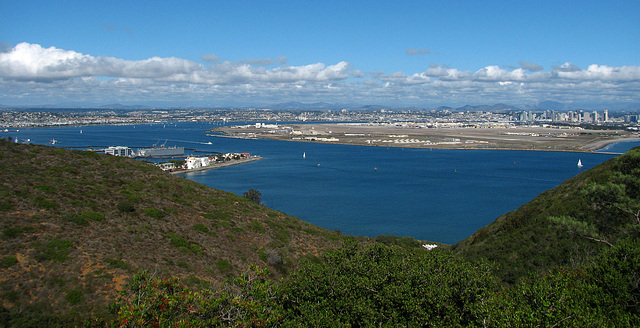 San Diego From Point Loma (2151)
