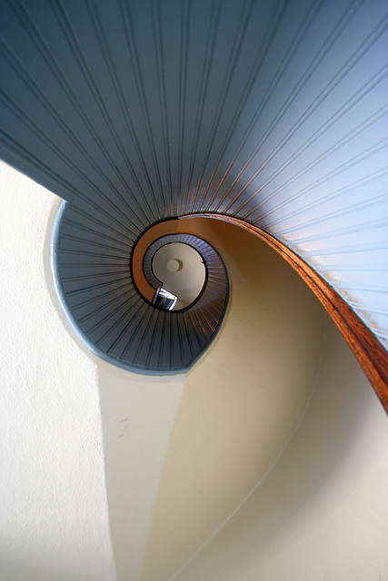 Stairway At Old Point Loma Lighthouse (8061)