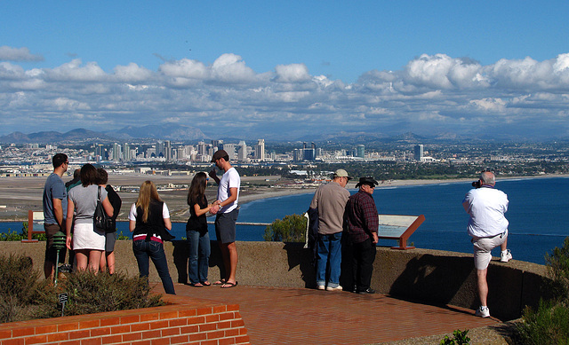 Visitors at Cabrillo National Monument (2158)