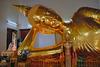 Lying Buddha image in the Phra Pathom Chedi