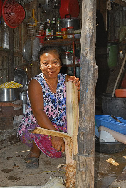 Preparing Mohinga