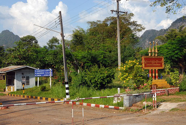 Border pass to Burma (Myanmar)