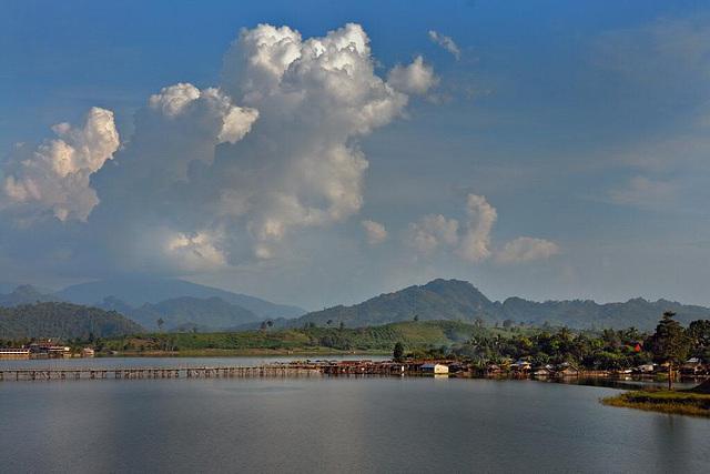A view over Khao Laem Reservoir