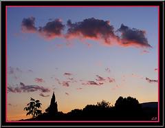 Rouge le Soir ... Beau Temps Espoir  ( Proverbe Provençal )
