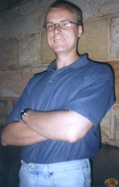 1997-08-17 04 Matthias en fortikaĵo Königstein