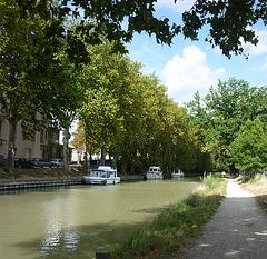 Canal du Midi à Carcassonne