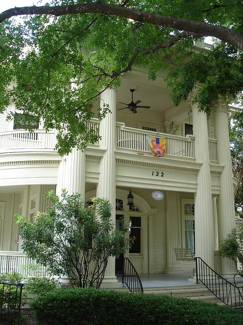 Le quartier King Williams / King Williams area - San Antonio, Texas. USA - 29 juin 2010.