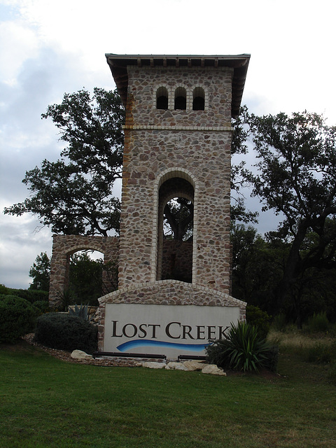 Lost creek / San Antonio, Texas. USA - 29 juin 2010
