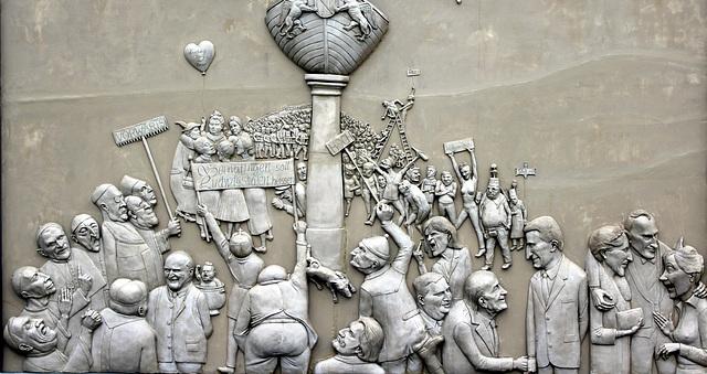 Ludwigshafen am Bodensee, Werk des Künstlers Lenk