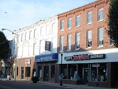 Maytag & Lusby buildings / Pocomoke, Maryland, USA - 18 juillet 2010.