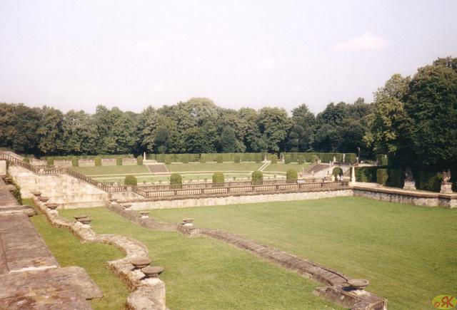 1997-08-16 15 Dresdeno, baroka ĝardeno Großsedlitz