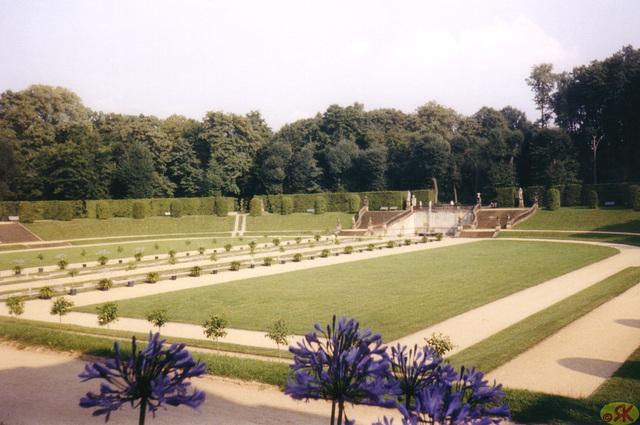 1997-08-16 17 Dresdeno, baroka ĝardeno Großsedlitz