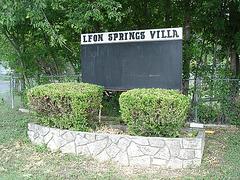 Leon springs villa / San Antonio, Texas. USA - 29 juin 2010