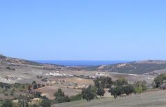 la rive sud de la Méditerranée  !!photo prise cet apres midi