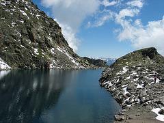 Tieftalsee auf 2783 m