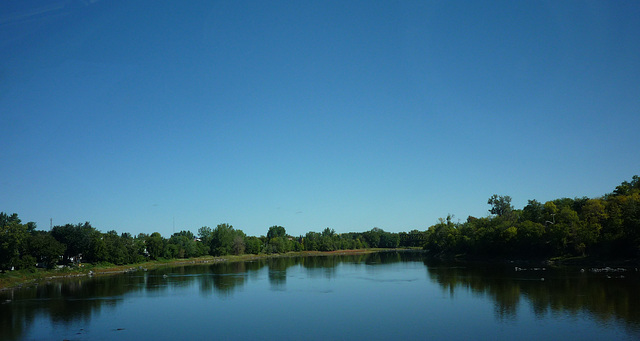 Le calme de la rivière!