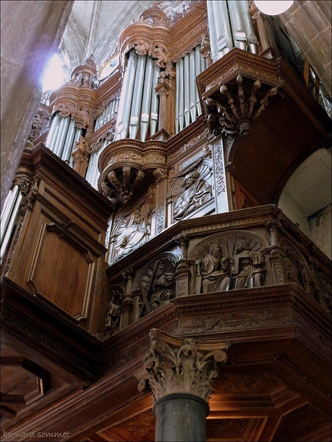 L'orgue de Saint Maclou