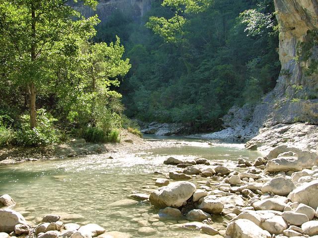 gorges du Toulourenc (vue partielle)
