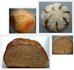 Broa/Pão de milho (integral), volkoren maïsbrood