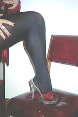 Mon amie / My friend Lady Roxy / Leopard mules