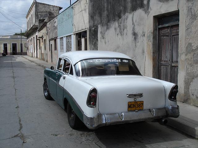 Chevrolet / Matanzas, CUBA. 5 février 2010