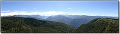 Panorama depuis le col du Chioula