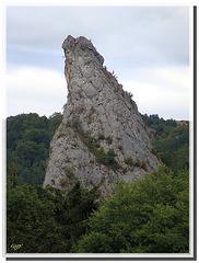 """Rébenty : """"Aiguille"""" de Labau - défilé de Niort de Sault - Aude (11)."""