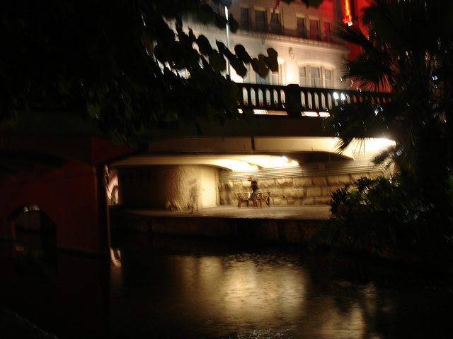 Le quidam troublé / The blurred guy - San Antonio, Texas. USA - 28 juin 2010