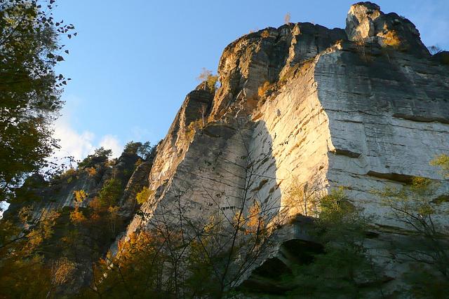 Sandstein bei Rathen