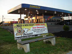Feazel bench / Le banc Feazel - Colombus, Ohio.  USA - 25-06-2010