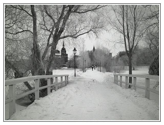 Weisse Brücken