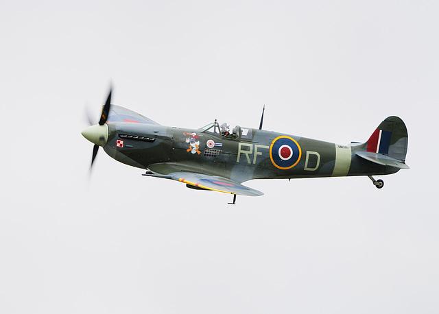 Memorial Flight Spitfire
