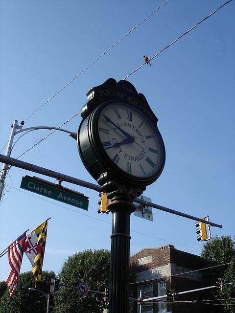 All America City finalist time / L'heure finalisée - Pocomoke. Maryland. USA - 18 juillet 2010.